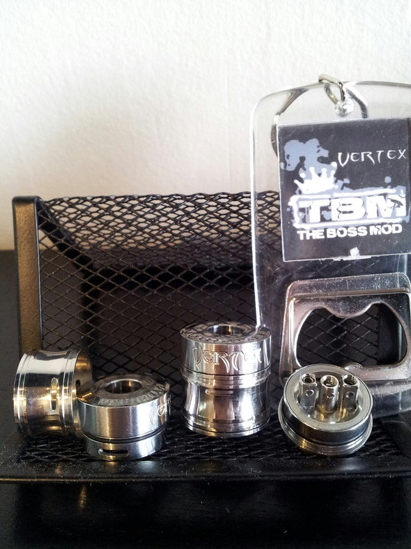 Vertex Rebuildable Dripping Atomizer The Boss Mod TBM