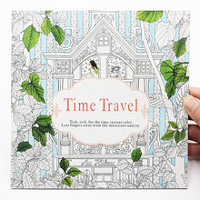 Load image into Gallery viewer, 24 Pages Time Travel Coloring Book For Children and Adults