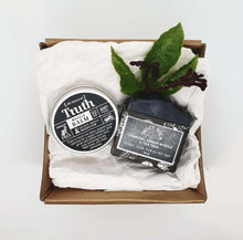 Load image into Gallery viewer, Gift pack of Feisty Chilli & Magnesium Muscle Balm and Essential Oil Soap.