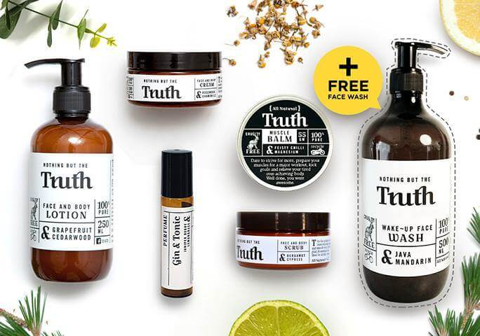 Complete Skincare Pack - Truth Cosmetics