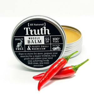 Muscle Balm | Feisty Chilli & Magnesium | 55gm