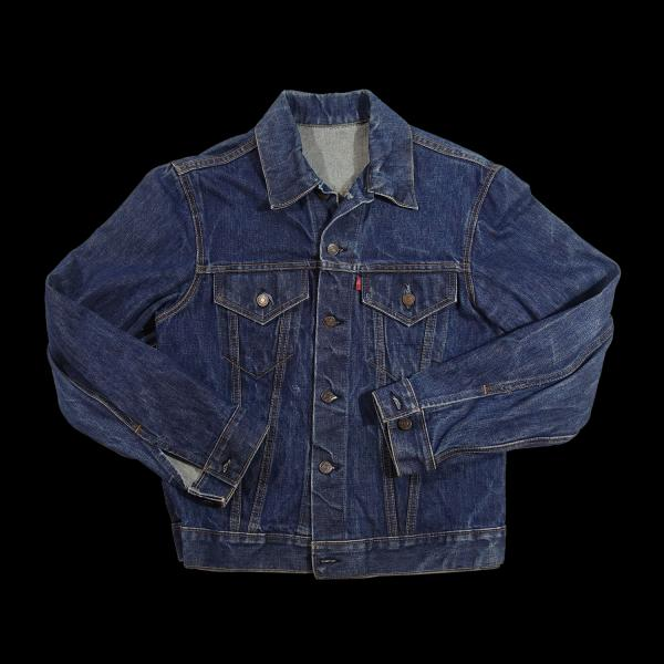 Vintage Dark Big E Levis Jacket 40