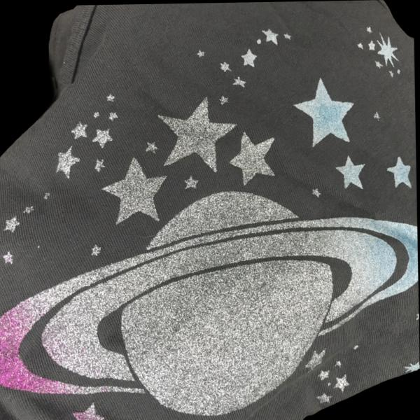 Saturn Glitter Long Sleeve