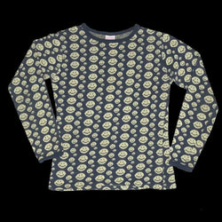 Smiley Knit Long Sleeve