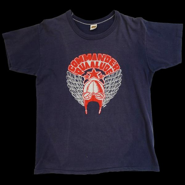 Commander Quaalude Wings T-Shirt