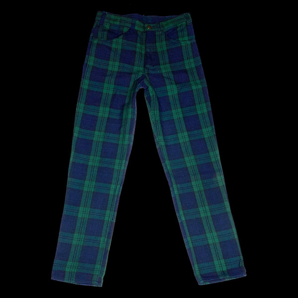 Levis Plaid Sta Prest Pants