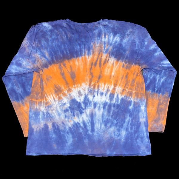 Long Sleeve Tie Dye Crew XL Orange Band