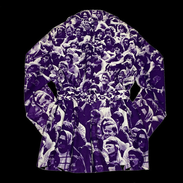 Baron Wolman Woodstock Crowd Print Coat