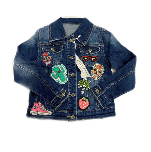 Chaqueta Denim customizable con parches