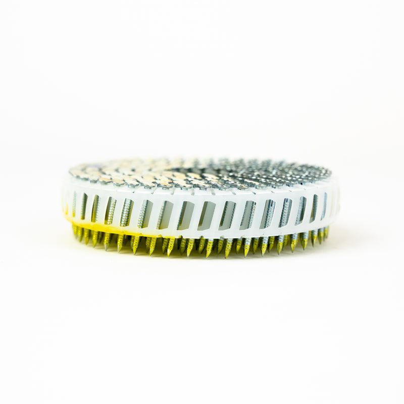 15° PLASTIC COLLATED COIL NAILS