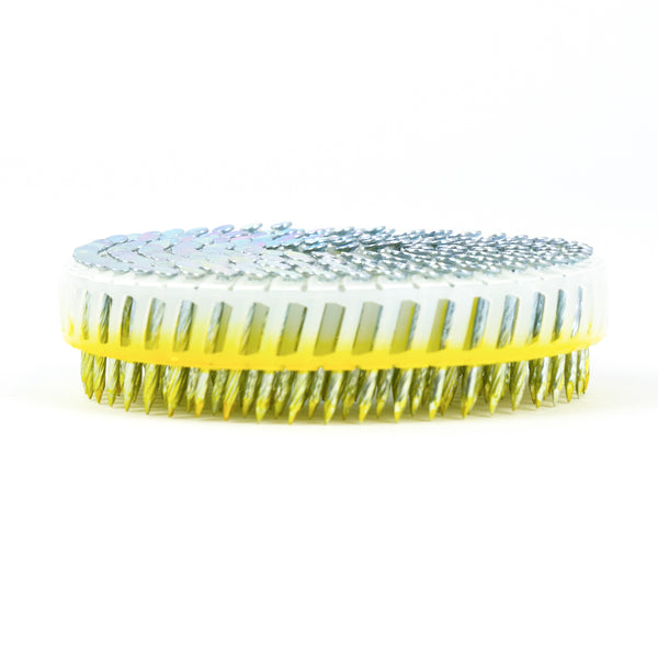 15° PLASTIC COLLATED HARDENED COIL NAILS