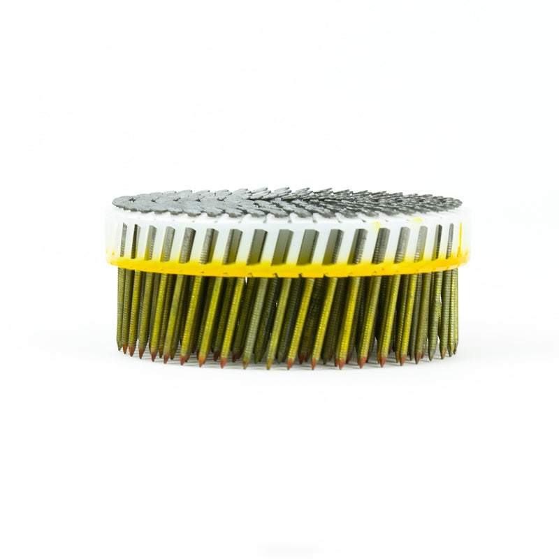 15° PLASTIC COLLATED NAILS - ROUND HEAD (WEATHERBOARD/CLADDING)