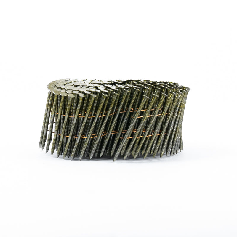 15° WIRE COLLATED COIL NAILS - RING SHANK