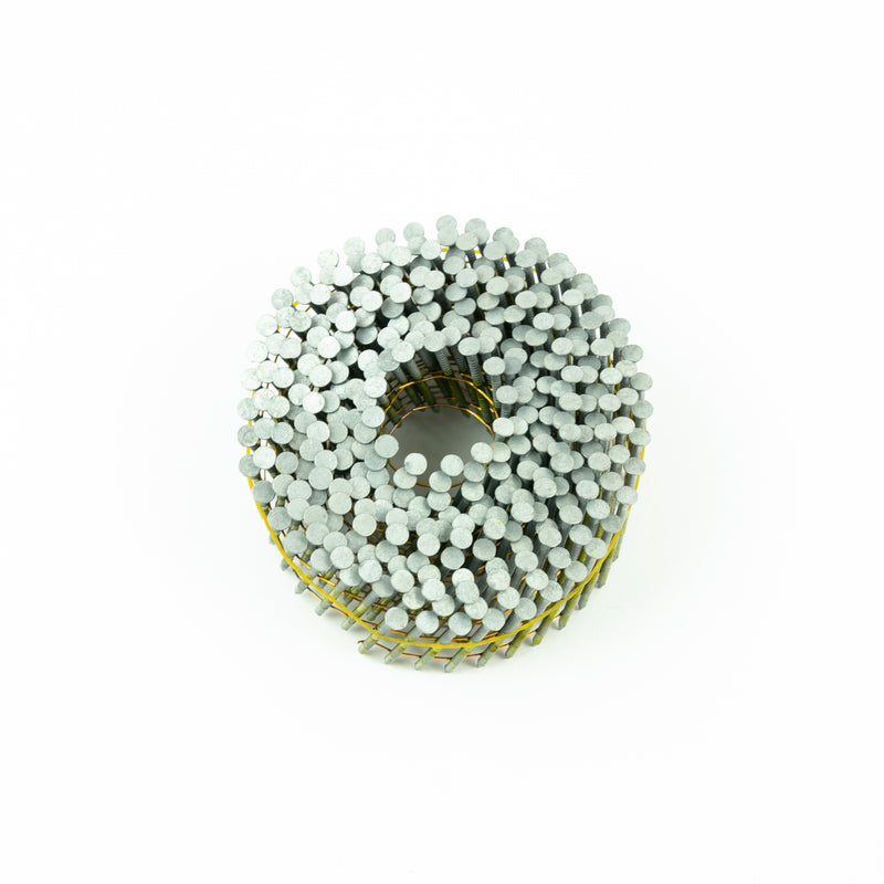 [45mm x 2.5] 15° COIL NAILS - RING SHANK for FENCING