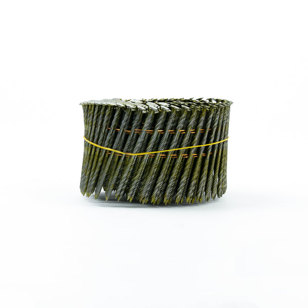 [90mm x 3.2] 15° COIL NAILS - SCREW SHANK for FRAME & TRUSS