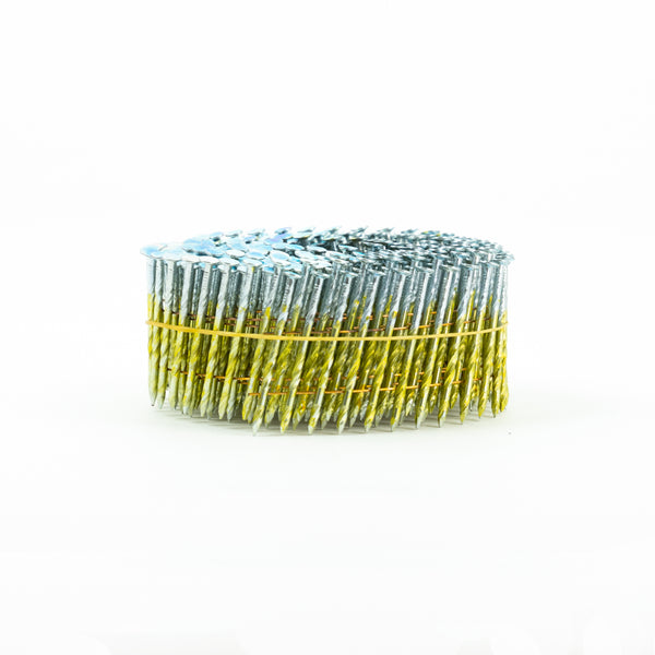 [57mm x 2.5] 15° COIL NAILS - SCREW SHANK for FENCING
