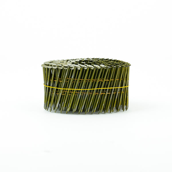 [75mm x 2.9] 15° COIL NAILS - SMOOTH SHANK for FRAME & TRUSS