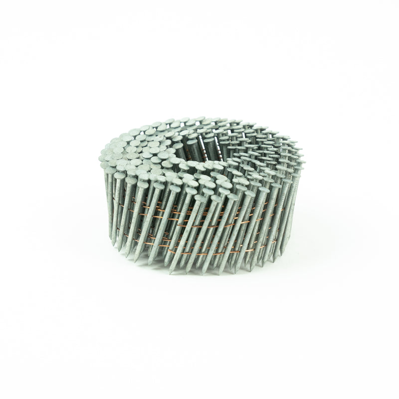 15° WIRE COLLATED COIL NAILS - SMOOTH SHANK