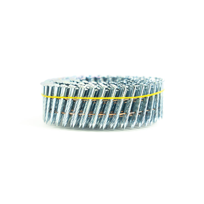15° WIRE COLLATED HARDENED COIL NAILS - SCREW SHANK