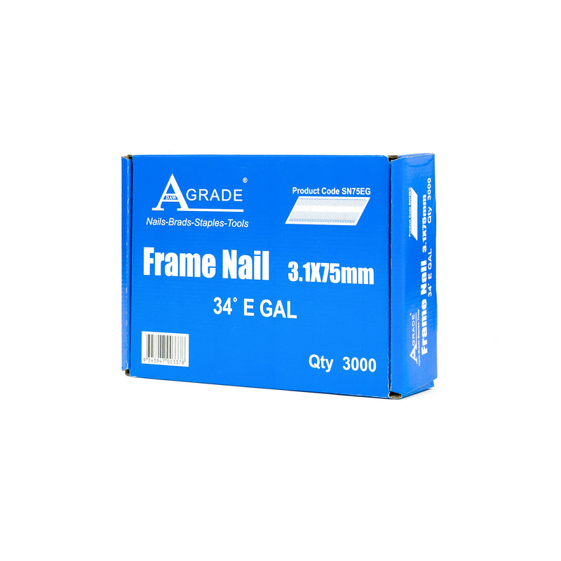 34° FRAMING NAILS