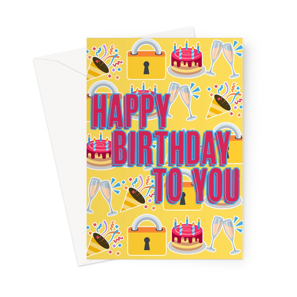 Emoji Lockdown Birthday Card