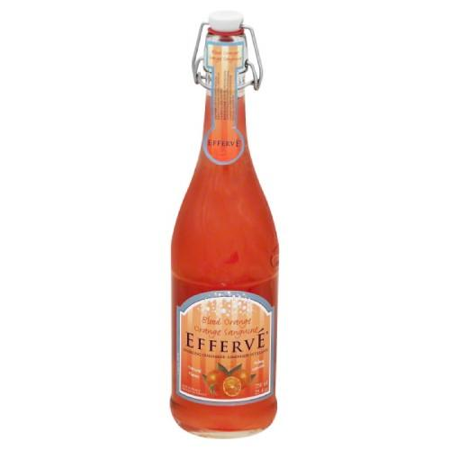 EFFERVE BLOOD ORANGE 750ML