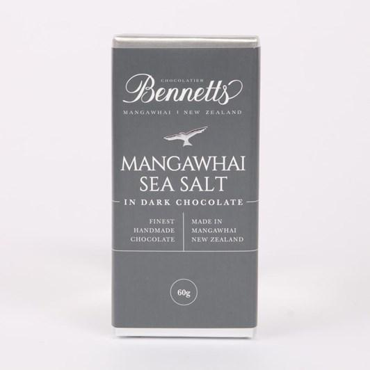 Bennetts Sea Salt Dark Chocolate Chocolate Bar 60g