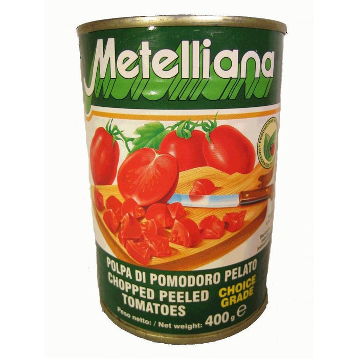 METELLIANA TOMATOES CHOPPED 400G