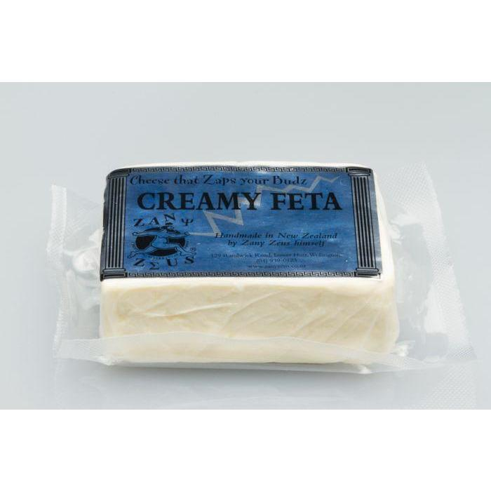 ZANY ZEUS CREAMY FETA Packed Cheese