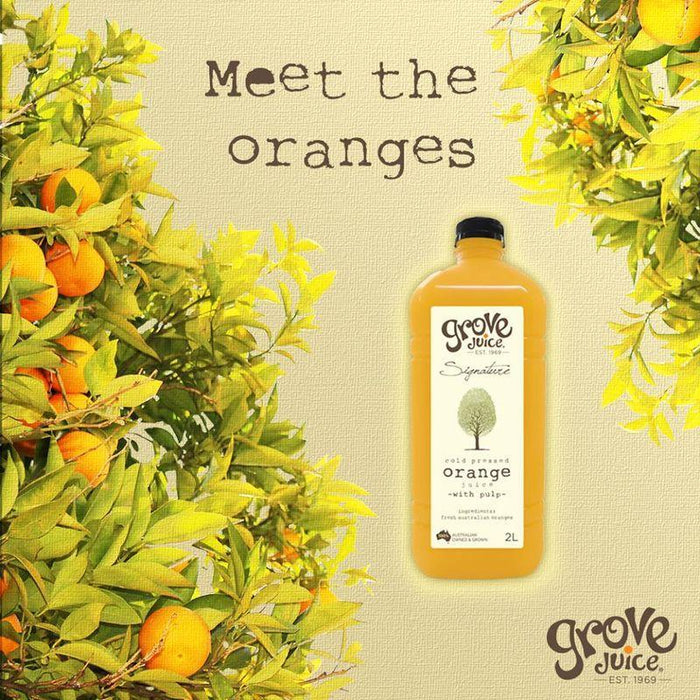 GROVE ORANGE JUICE 2L