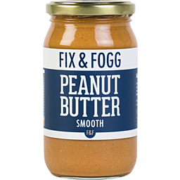 FIX AND FOGG SMOOTH PEANUT BUTTER 350G