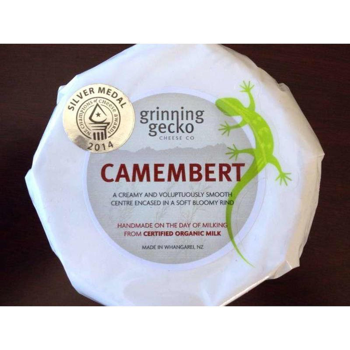 GRINNING GECKO CAMEMBERT PACKED CHEESE 150G