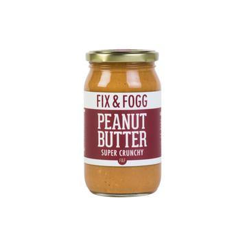 FIX AND FOGG CRUNCHY PEANUT BUTTER 350G