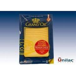 GRANDOR MAASDAM SLICES PACKED CHEESE 160G