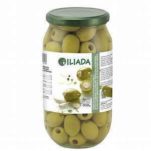 ILIADA GREEN OLIVES 370G