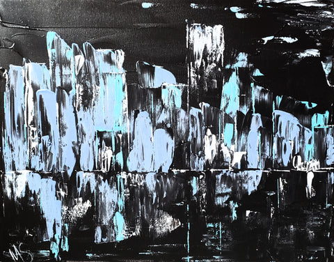 Nightlife - Original Abstract Painting - Abstract Expressions Art