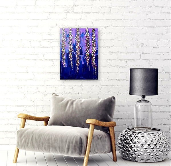 Untitled Abstract [Flowers] - Original Abstract Painting - Abstract Expressions Art