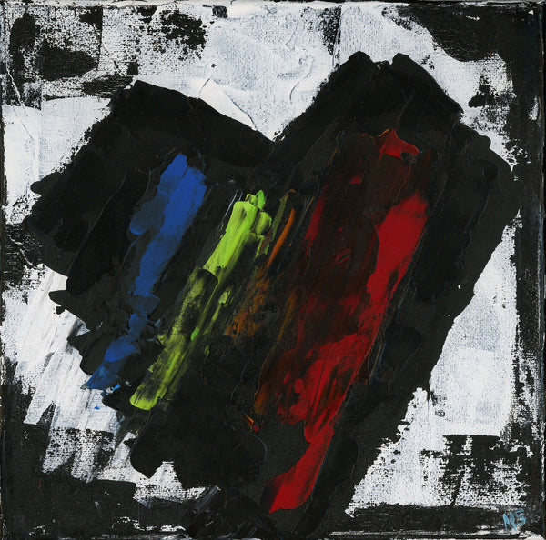 [Heart] Abstract - Original Abstract Painting - Abstract Expressions Art