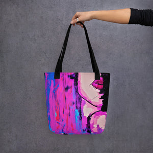 Abstract Female #9 Tote Bag - Abstract Expressions Art