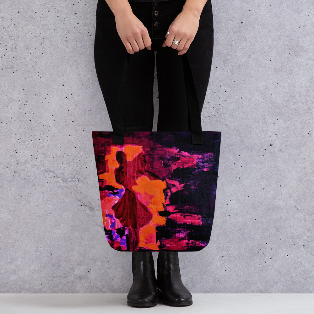 Abstract Female #10 Tote bag - Abstract Expressions Art