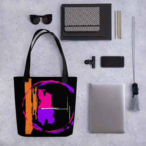 Out of this World (2) Tote Bag - Abstract Expressions Art