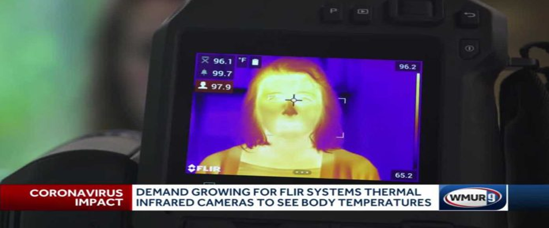 NH company sees increased demand for thermal cameras to screen for COVID-19