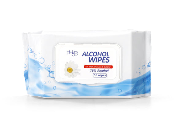 Disinfecting Wipes - 75% Alcohol