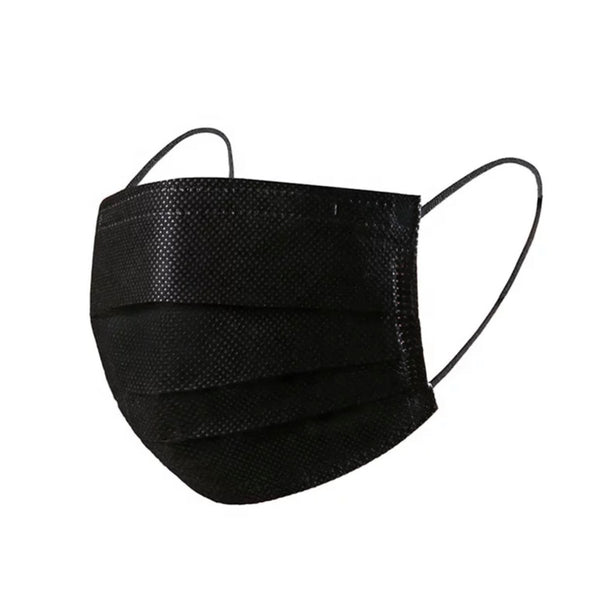 Bulk Orders: 3-Ply Face Masks - Black