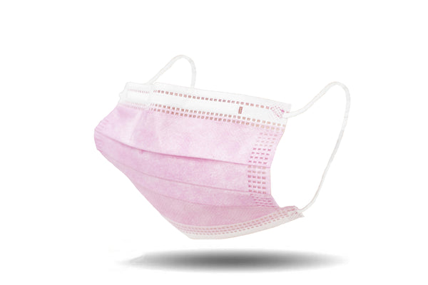 Kids 3-Ply Mask - Pink