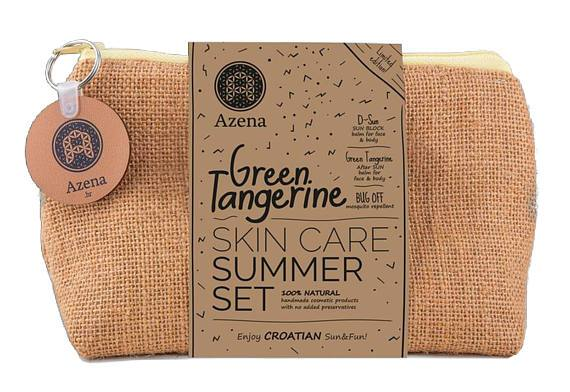 Load image into Gallery viewer, Summer Set Green Tangerine - Azena natural cosmetics - Almamea
