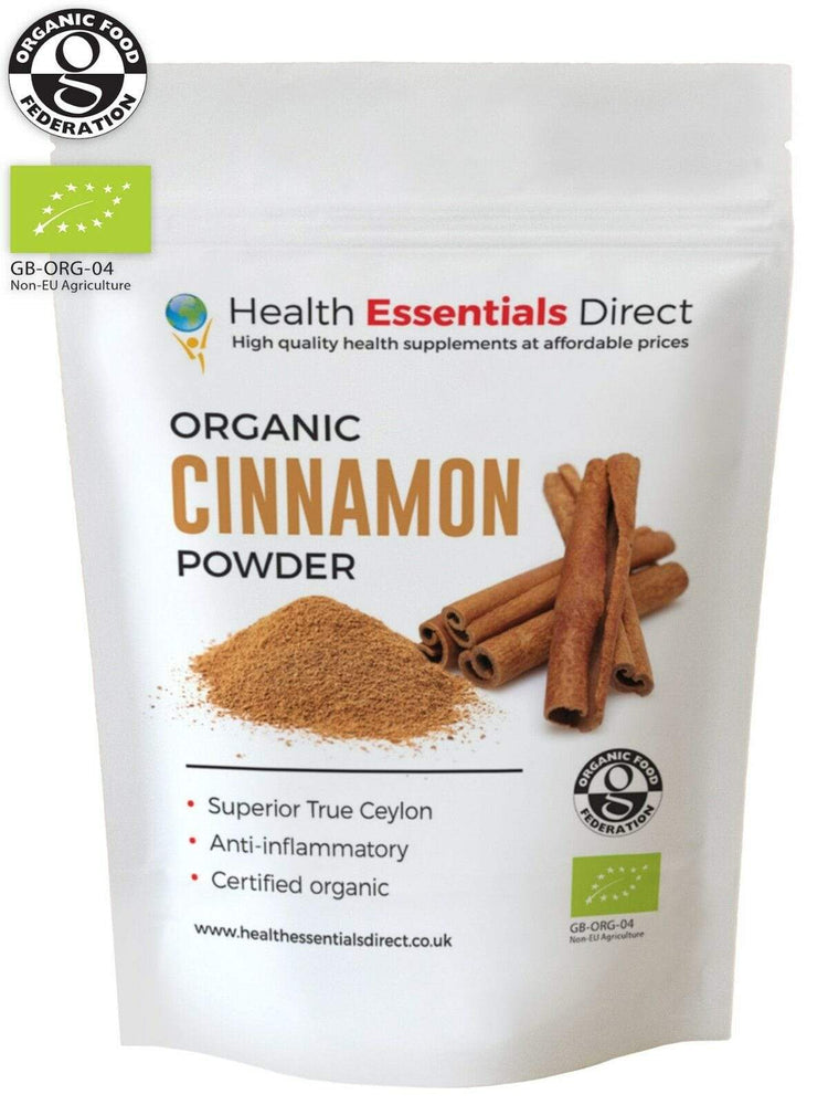 Organic Cinnamon Powder - Sri-Lankan - Almamea