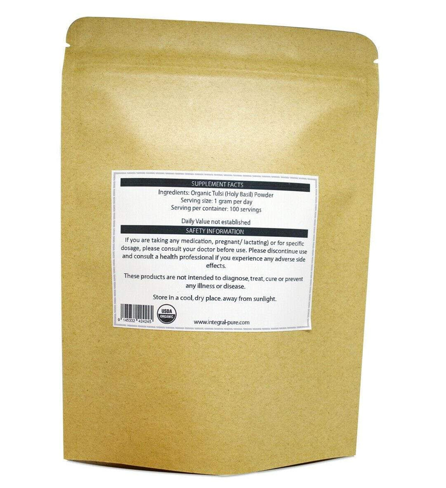 Tulsi (Holy Basil) Powder - Organic - Almamea