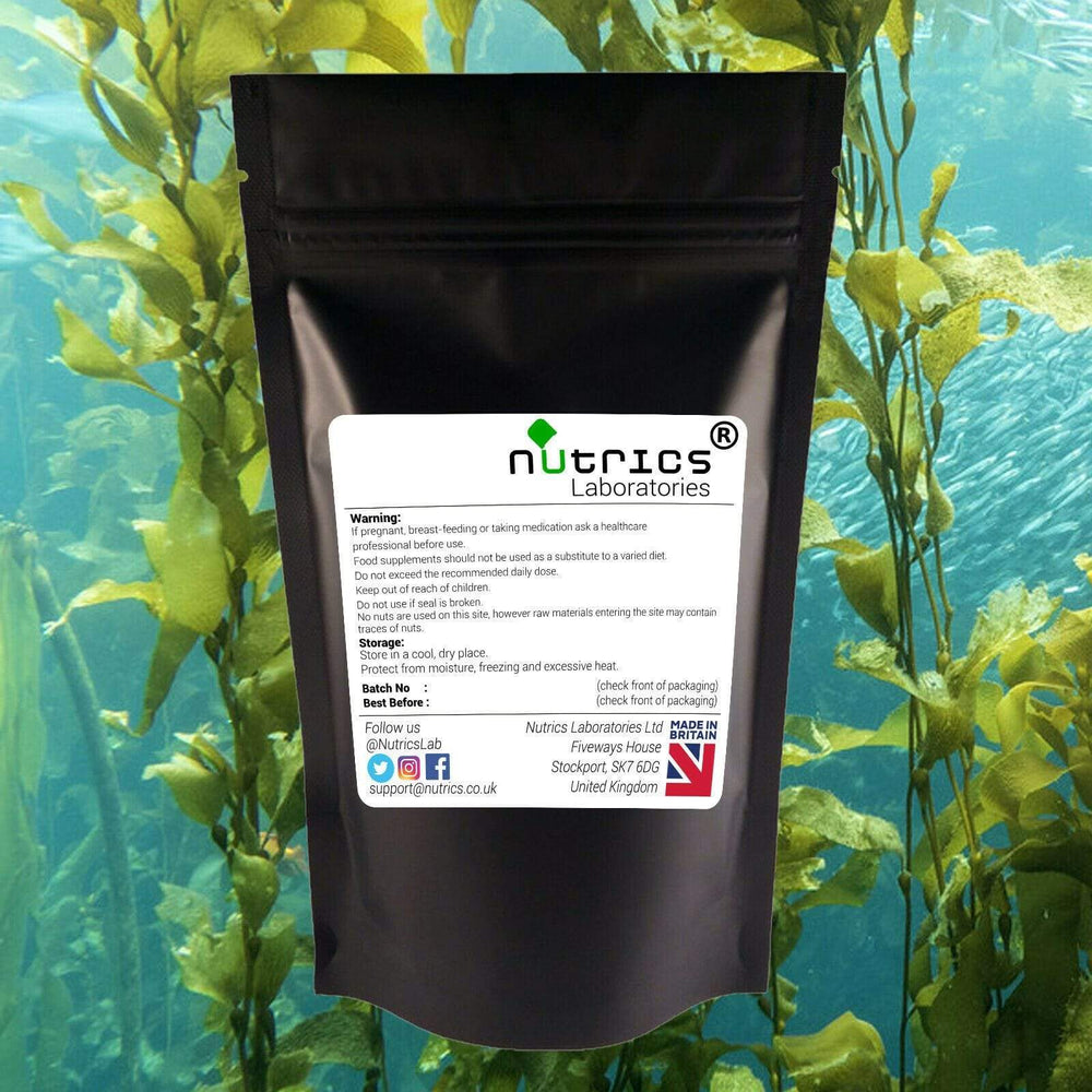 Load image into Gallery viewer, Organic Seaweed Kelp - 90 Capsules - Almamea
