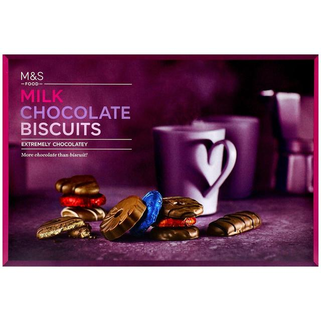 Milk Chocolate Biscuits 450g